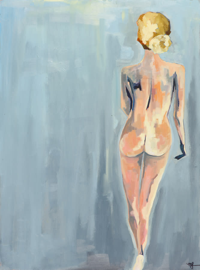 Nude 7 22x30 oilonpaper