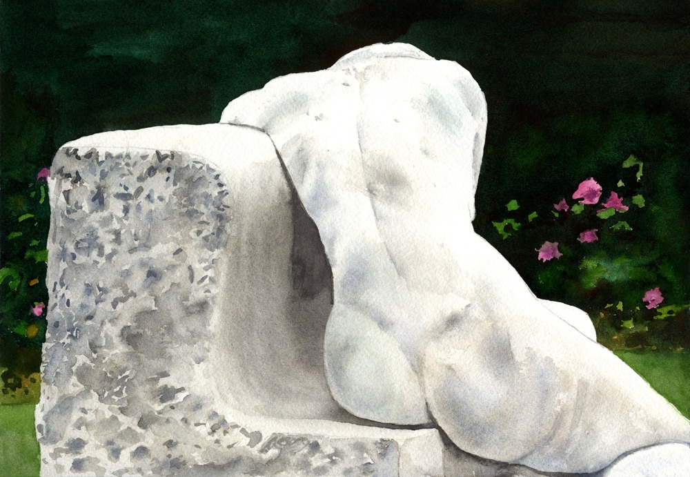 July 1 01 Sculpture of a Woman ASF PRINT