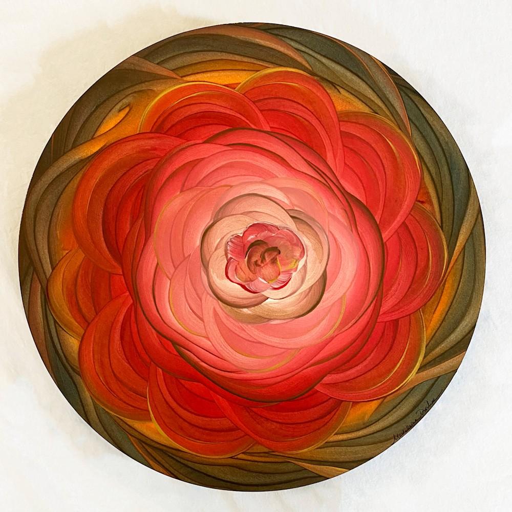 Floral Mandala 1   Original