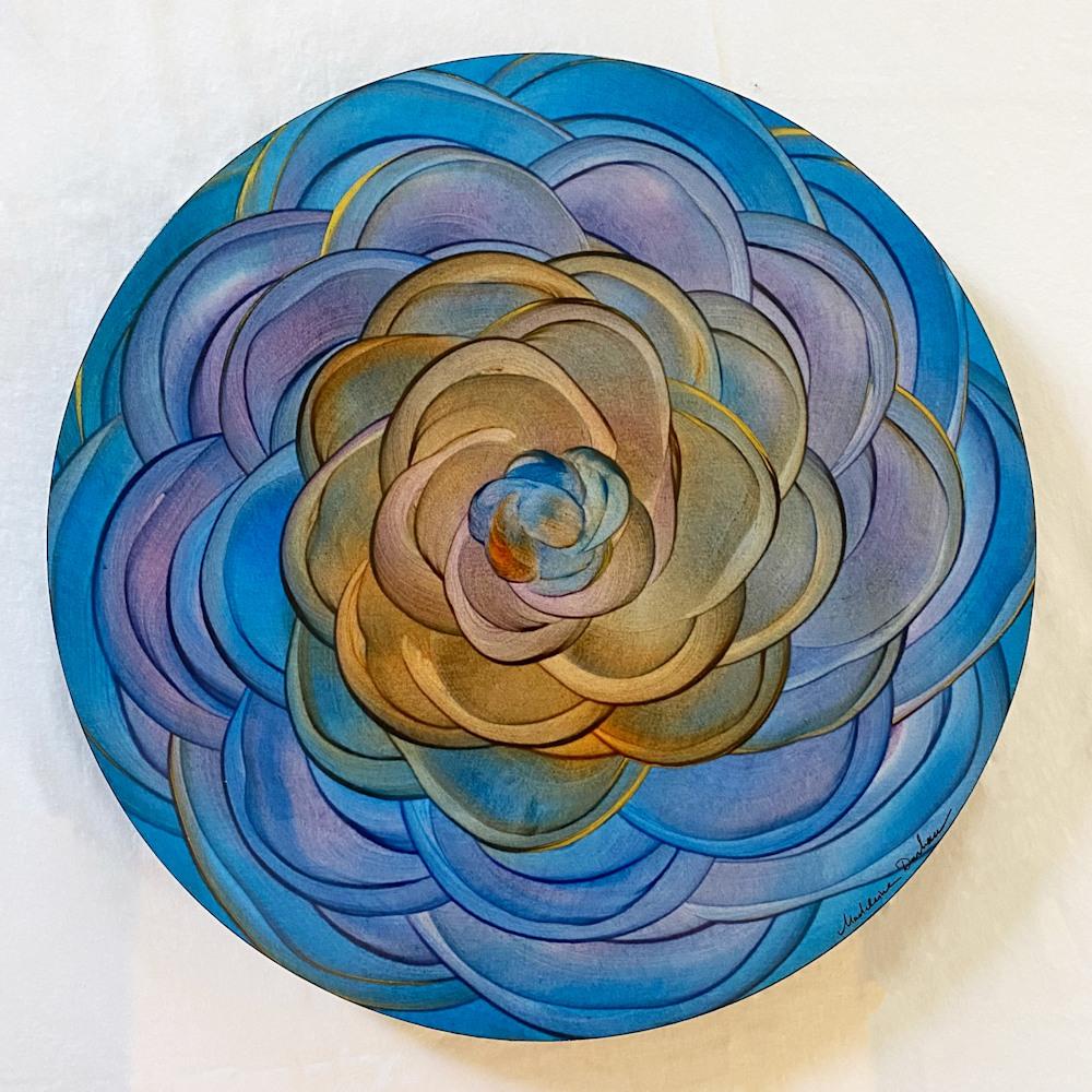 Floral Mandala 2   Original