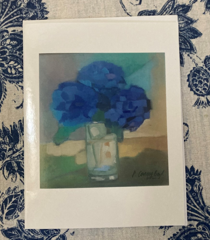 Hydrangea in the Light notecard