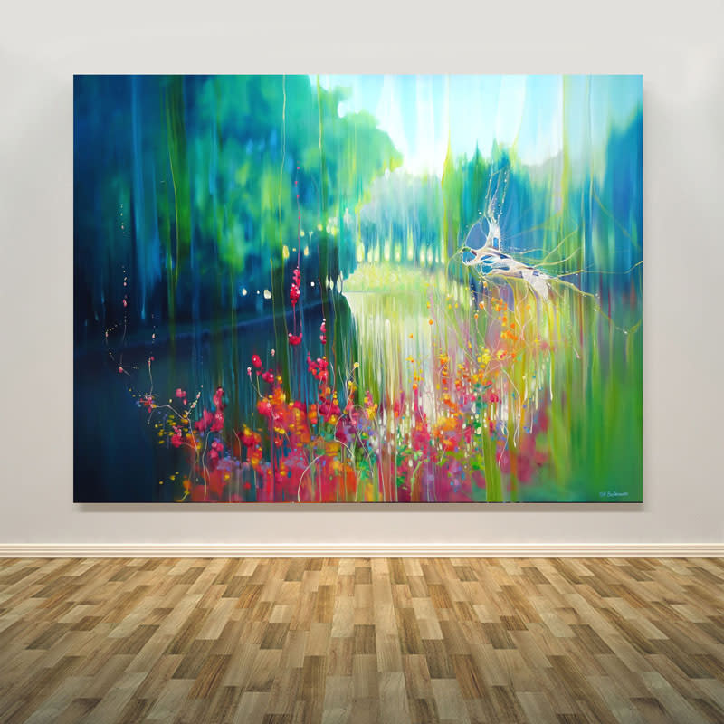 july by the river print wall art S