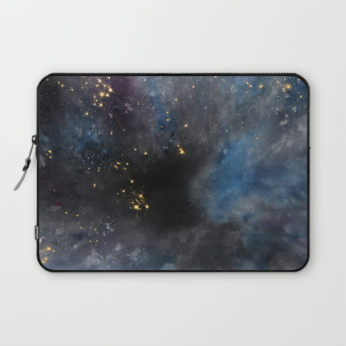 dyed cosmoscity laptop sleeve 1