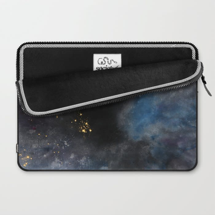 dyed cosmoscity laptop sleeve 2