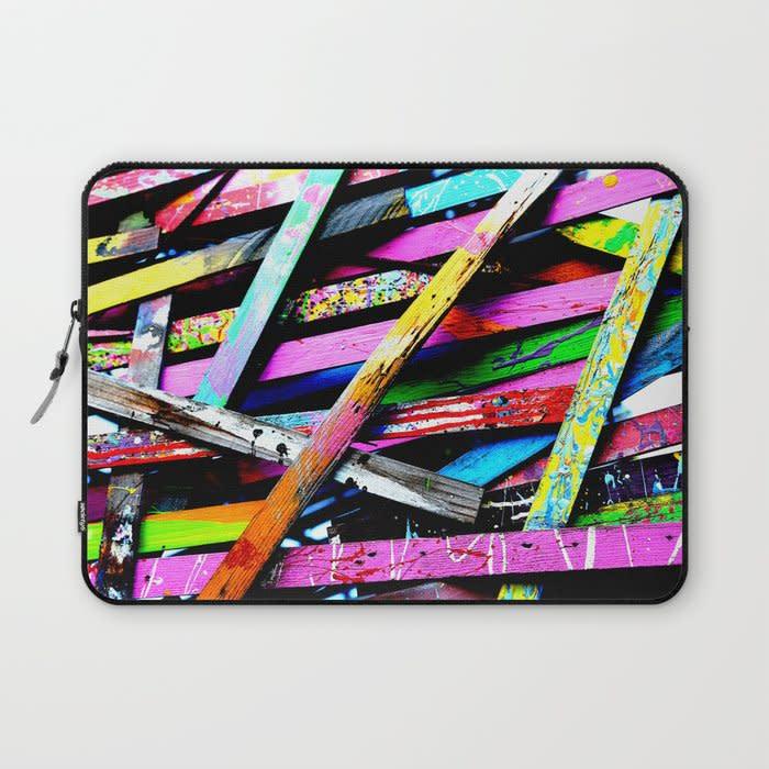 funneled creativity 2 laptop sleeve 1