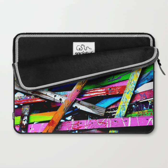 funneled creativity 2 laptop sleeve 2