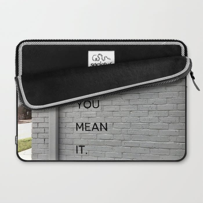 live like you mean it laptop sleeve 2