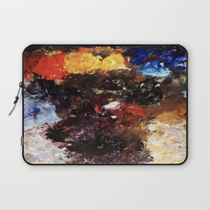 parisian pallette laptop sleeve 1