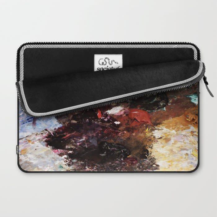 parisian pallette laptop sleeve 2