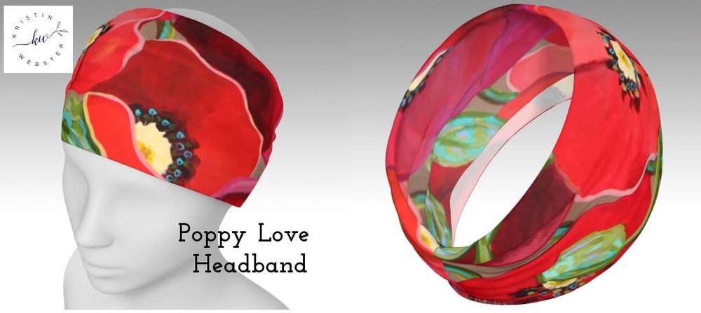 Poppy Love headband photos