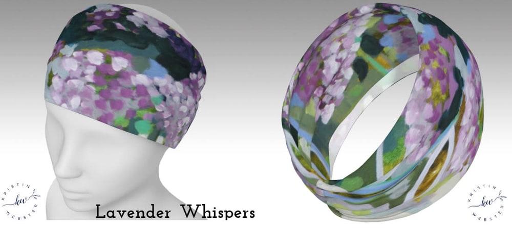 Lavender Whispers headband photos