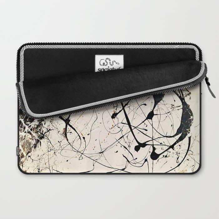 road traveled together laptop sleeve 2