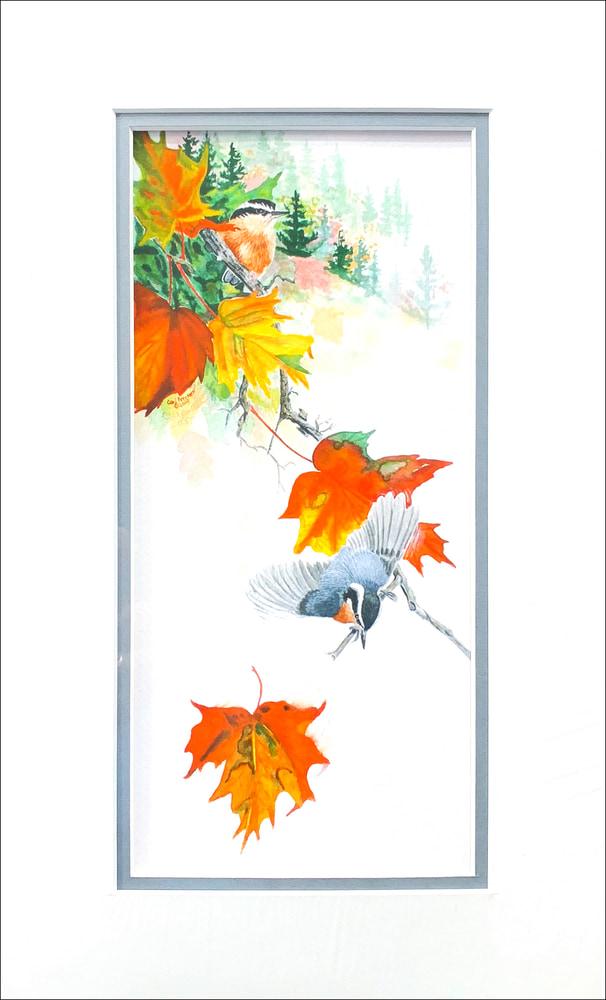 Leaf Fall II matted