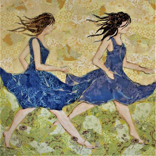 Racing The Wind Blue Dress R 2
