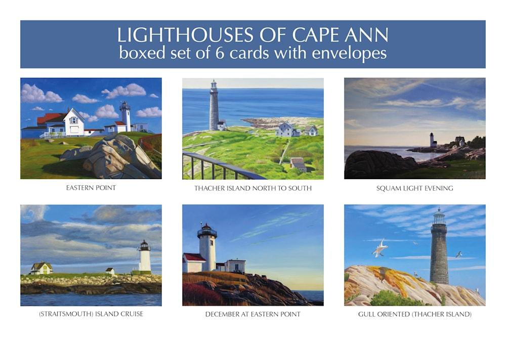 CapeAnnLighthouse cardset lo