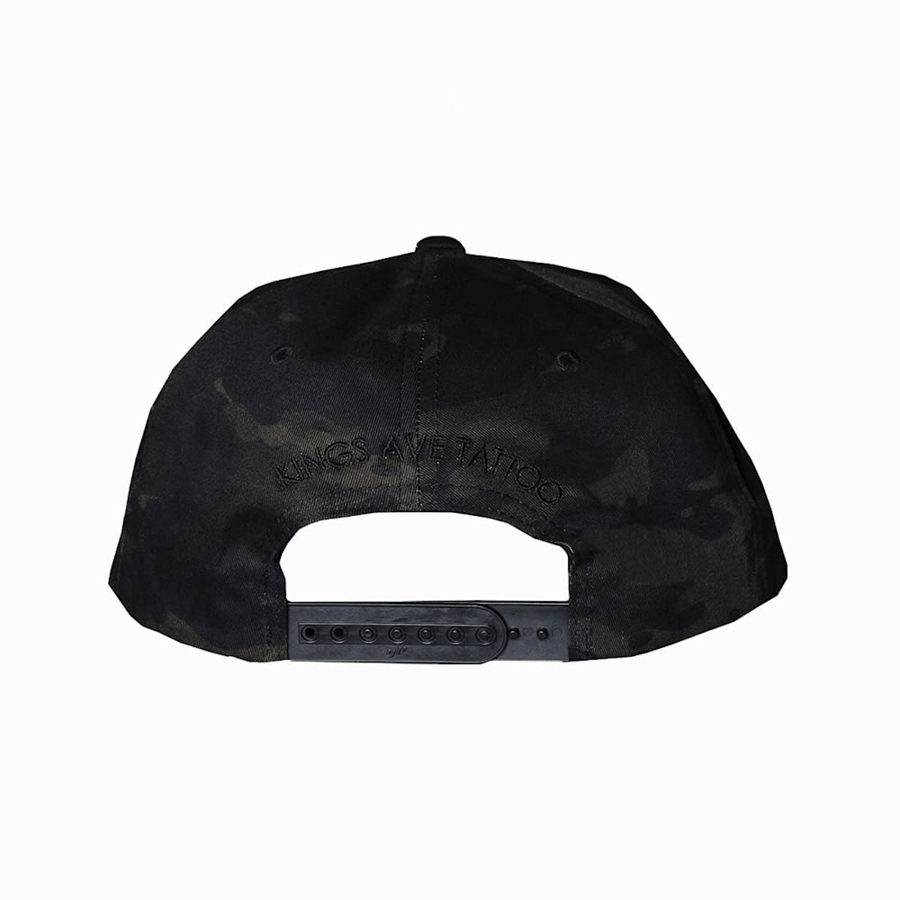 KA Camo Hat Black Back