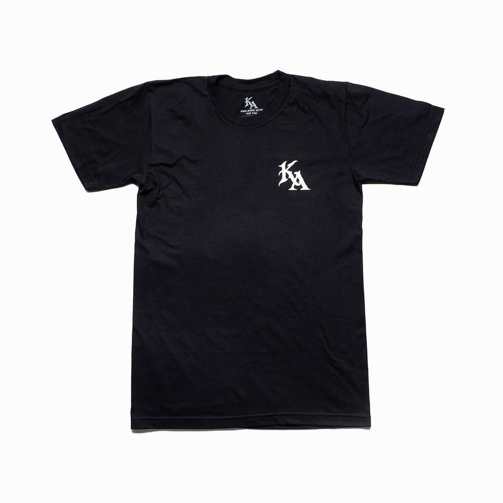 KA Ode To Irons Tee Black Front