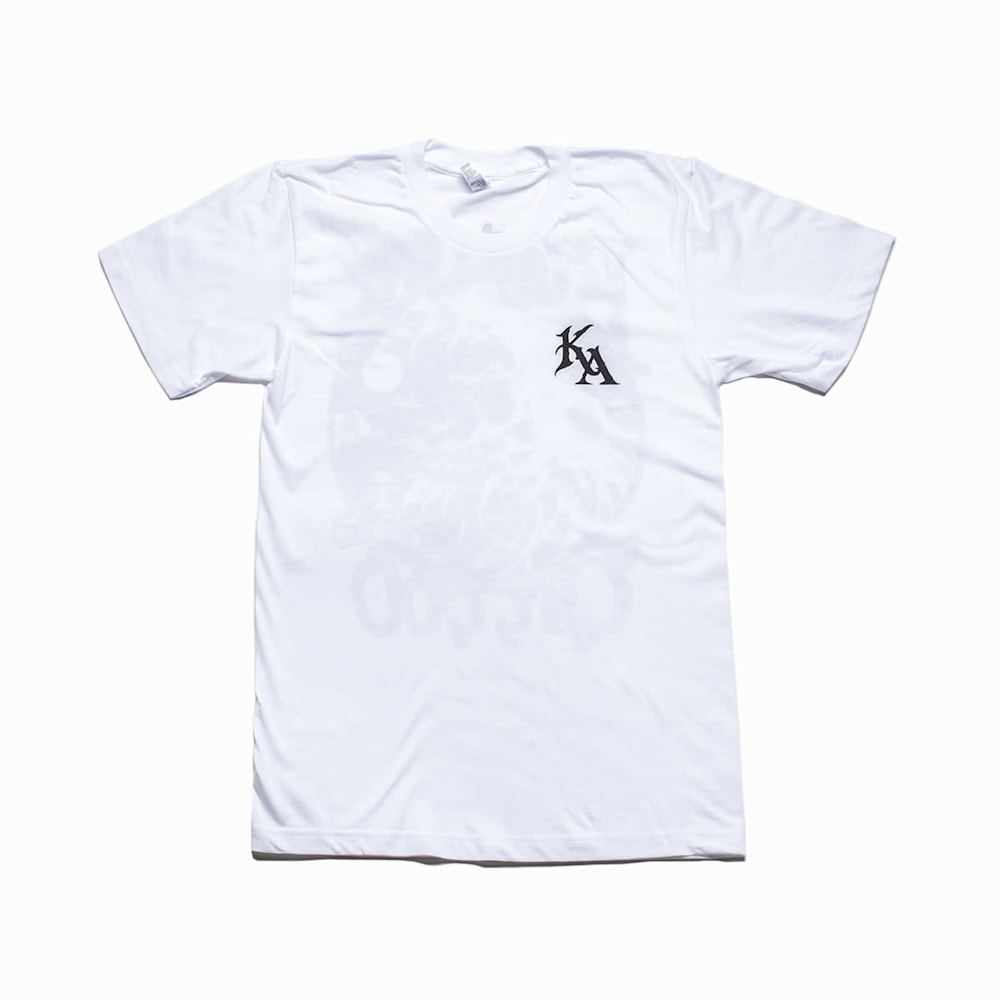 KA Ode To Irons Tee White Front