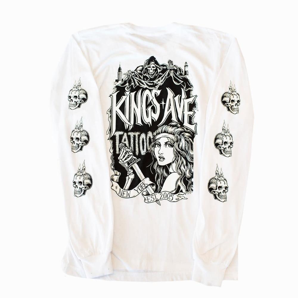 KA Branded NY Horror White Back