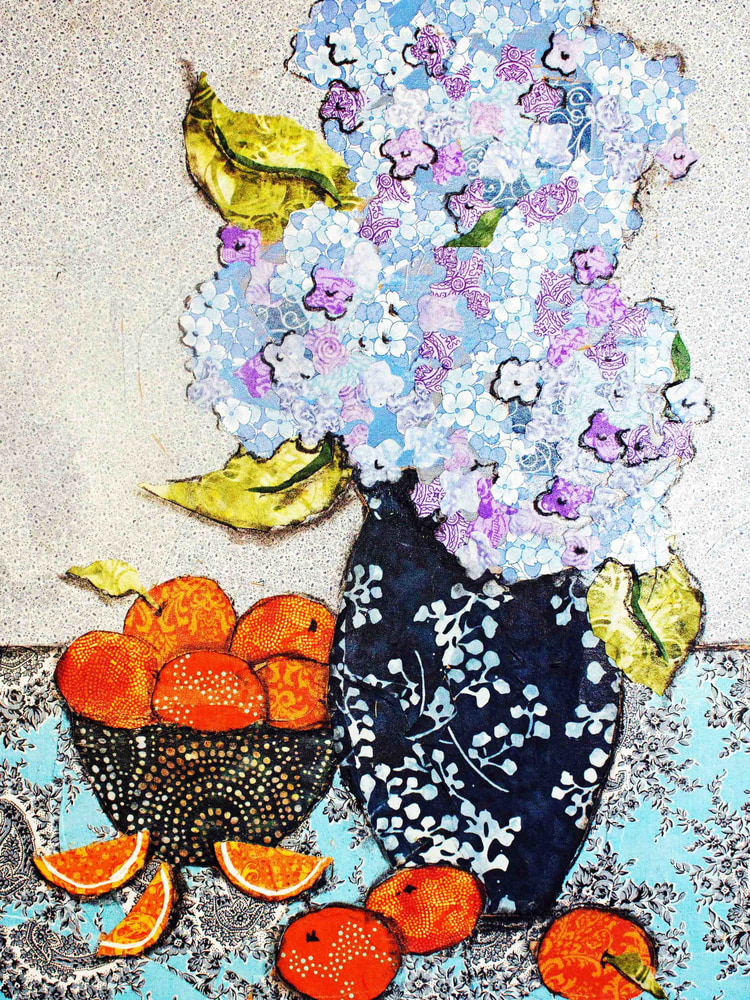 Hydrangea and Oranges R