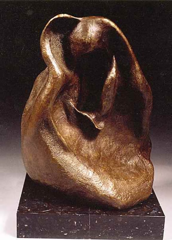 In My Mothers Arms Bronze