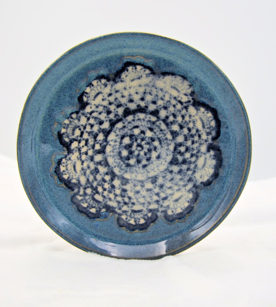 Anne Chaney Blue Plate Doily Designb
