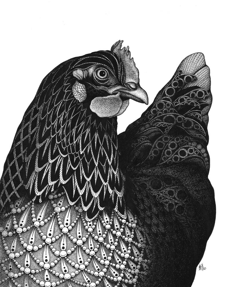 Queenie (chicken)