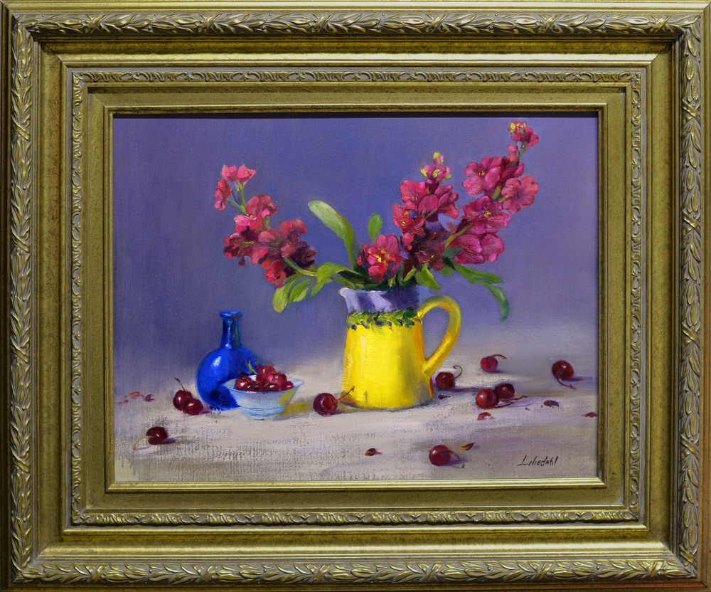 Primary Colors Original Framed D610