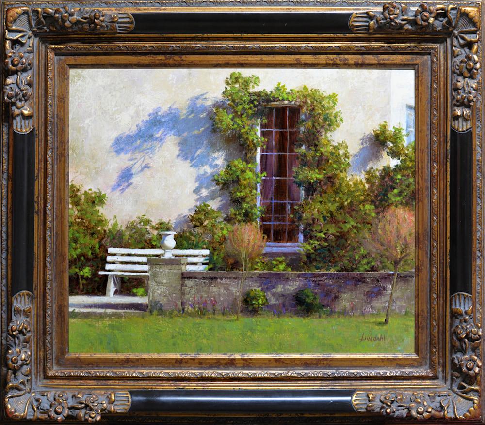 Irish Ivy Original Framed D610