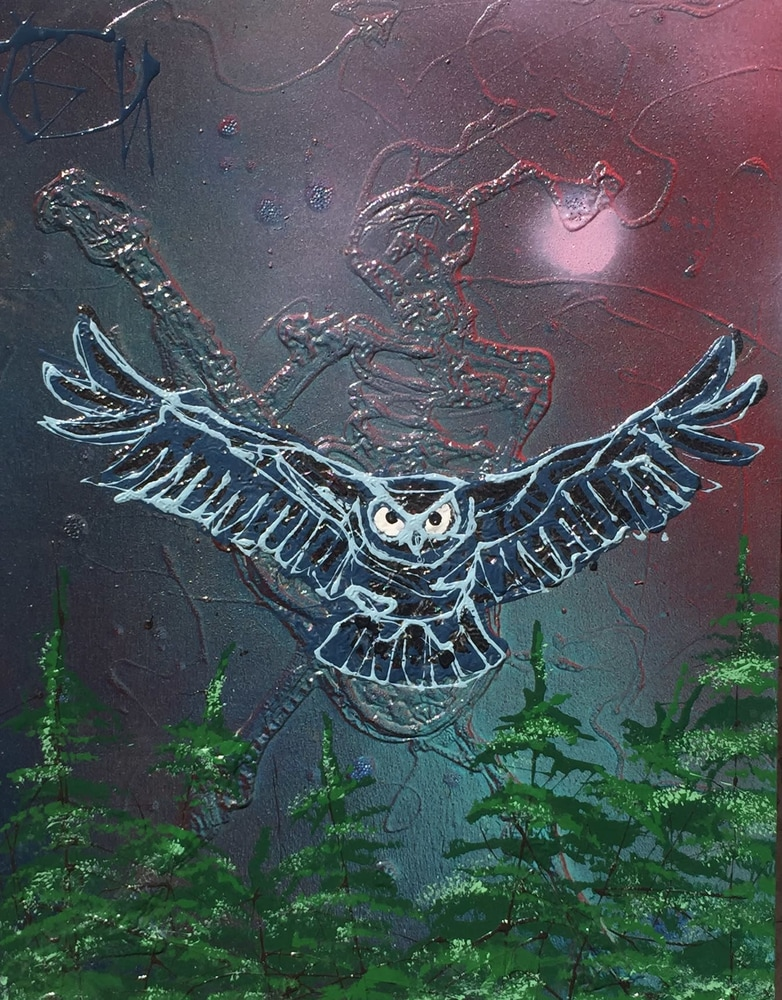 Nighthawk Rocks 11x14  $285