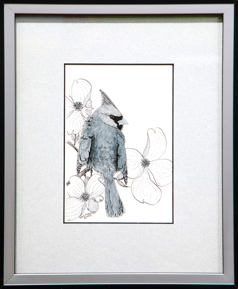 Cardinal, Orig ST Framed