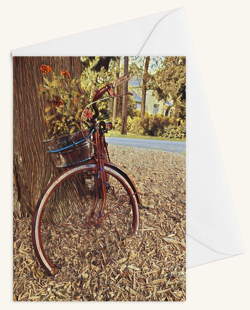 Bicycle w Envelope