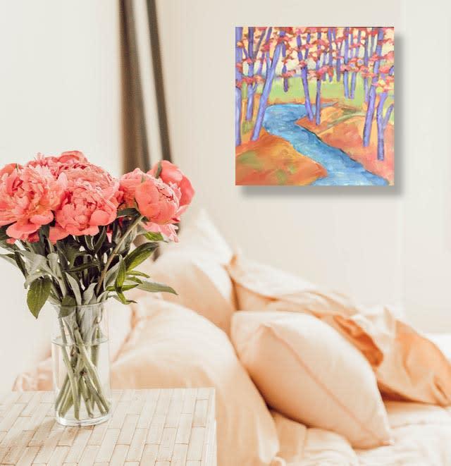 room orange trees 2 Ebay