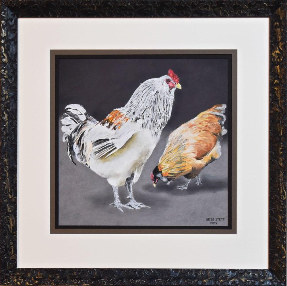 Vigilant Rooster