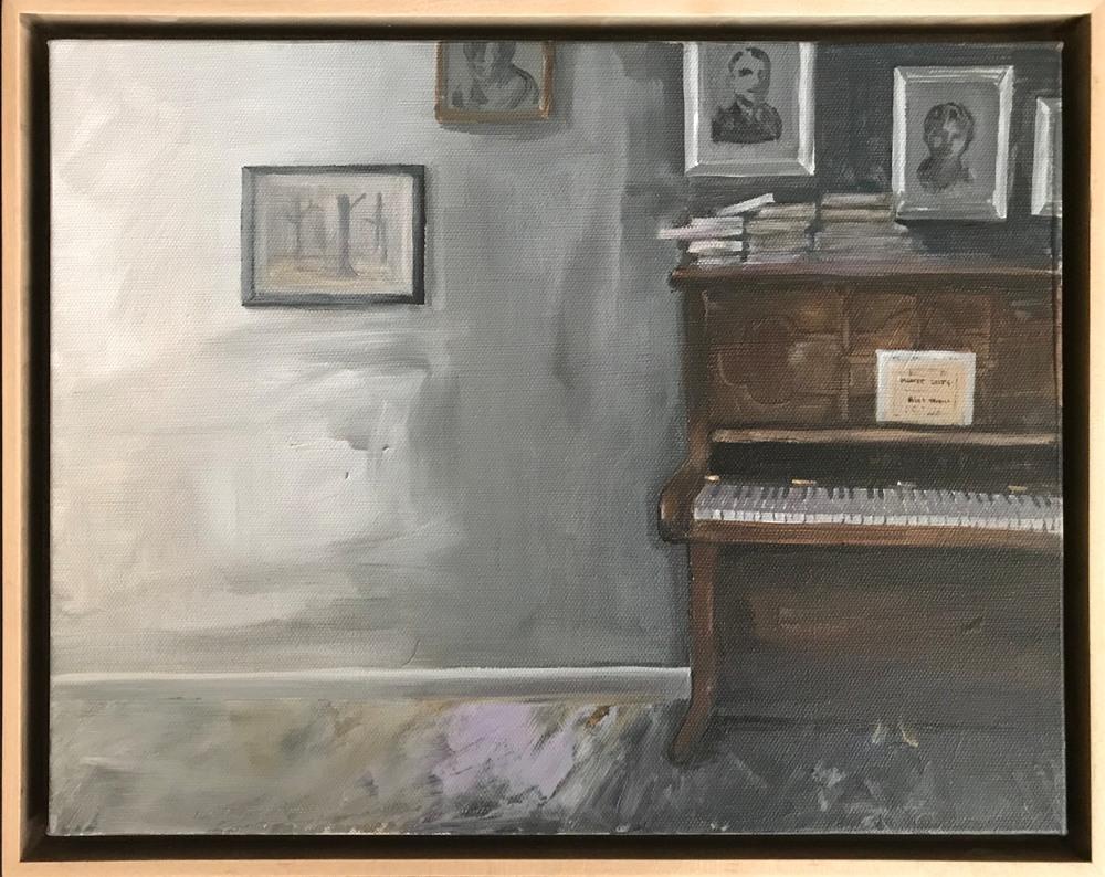 piano framed