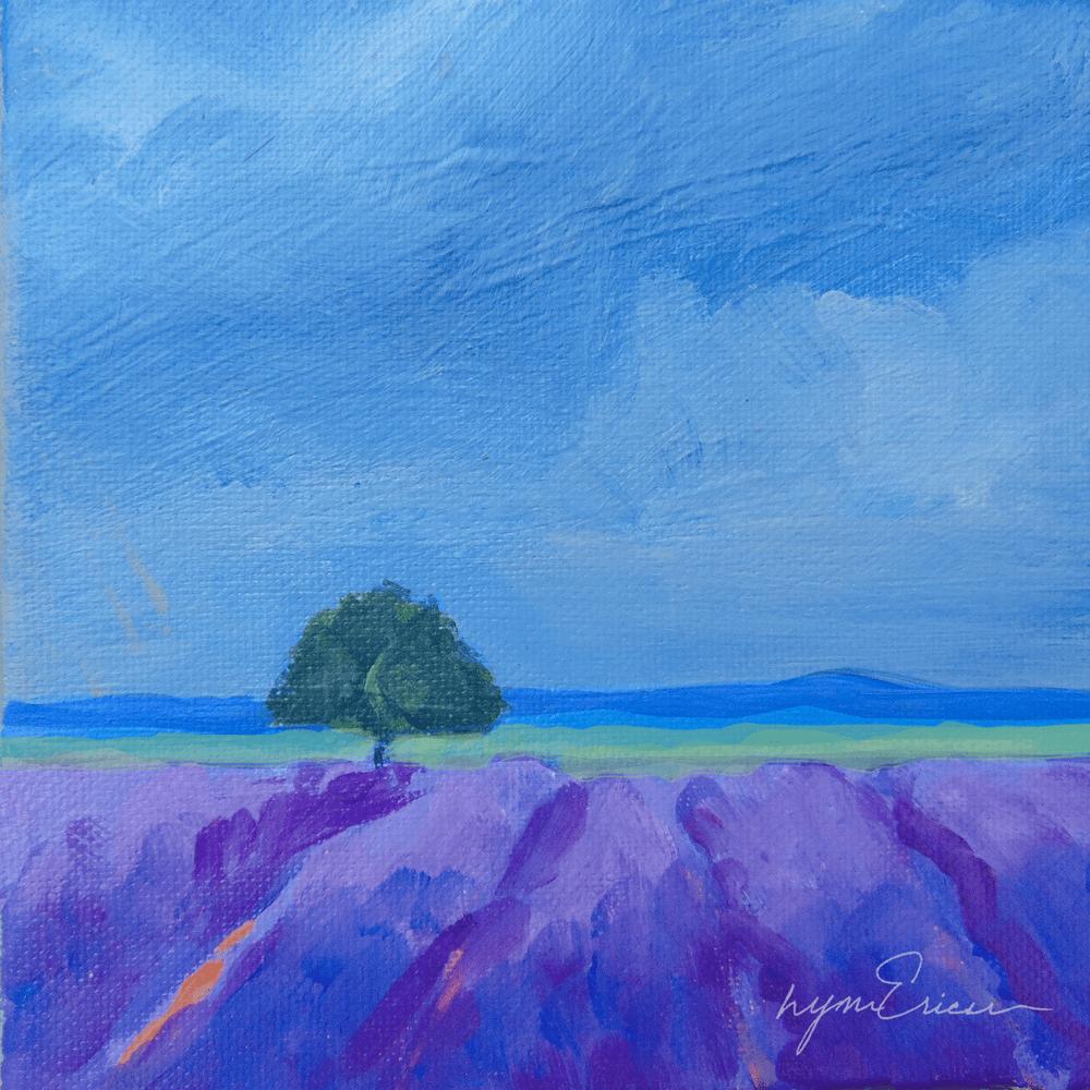 Cobalt and Purple