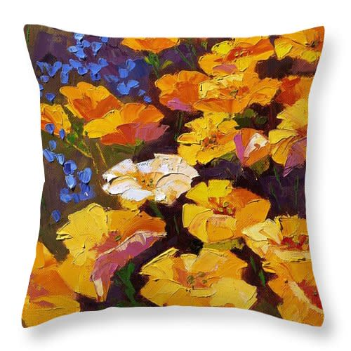 Pillow Poppies