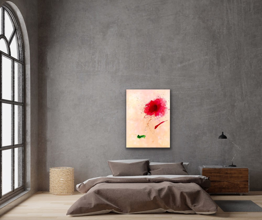 Red Bloom Interior