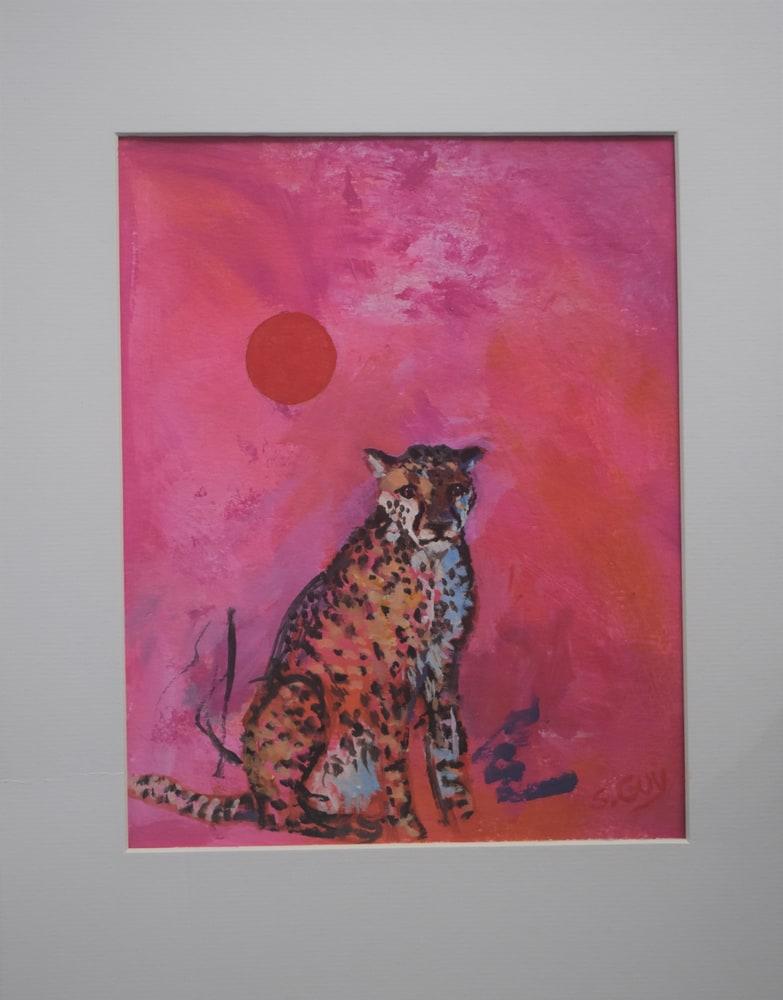 Cheetah Fantasy matted