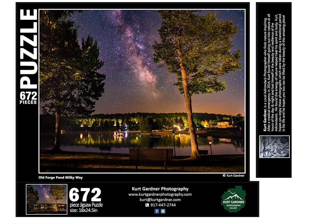 G40 Old Forge Pond Milky Way 672 FLAT1