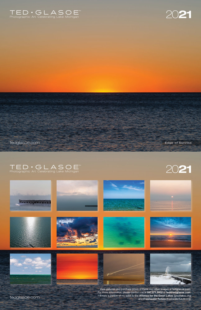 2021 Ted Glasoe Calendar - Cover