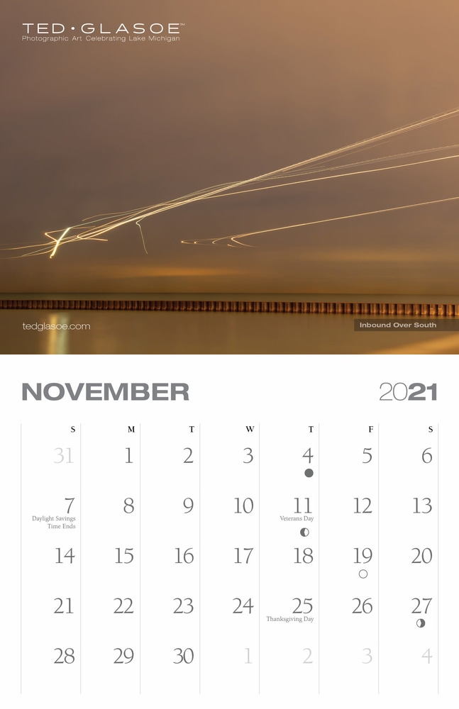 2021 Ted Glasoe Calendar - November