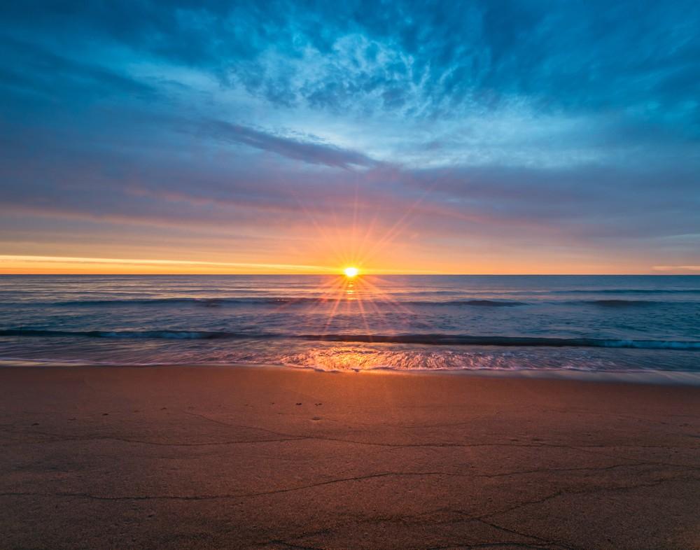 8 Angled Sunrise