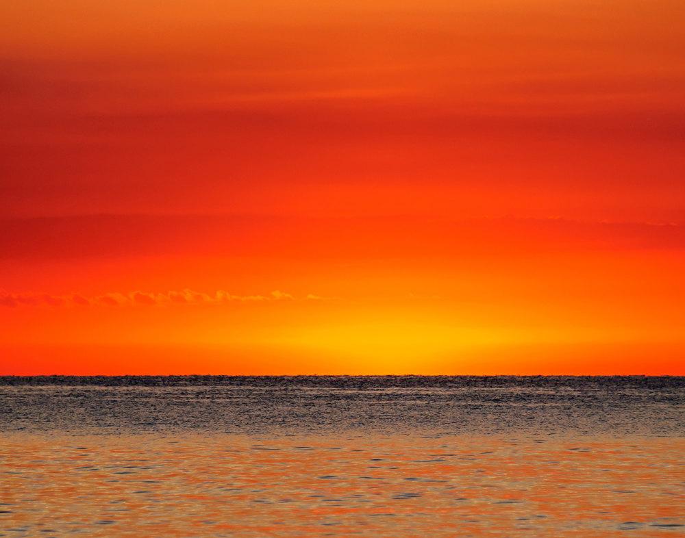 10 Fiery Sunrise