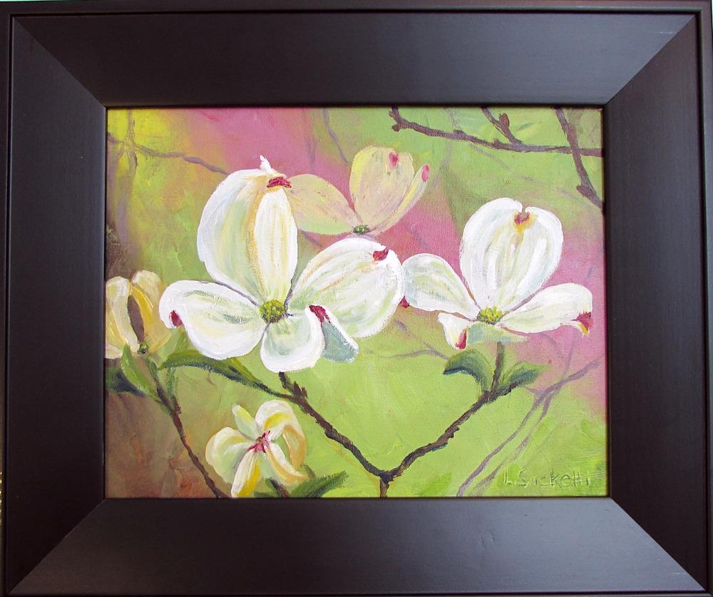 IMG 2578 White Dogwood framed