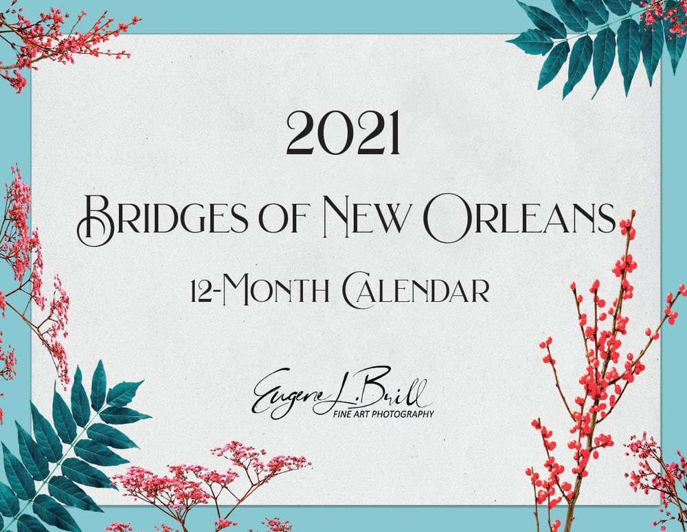 New Orleans Bridges Calendar 2021 Cover