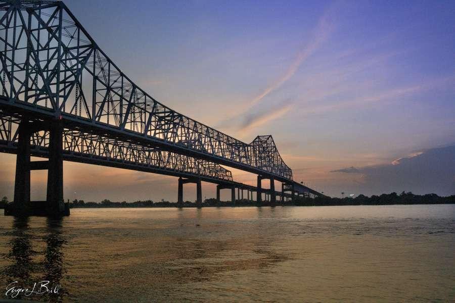 New Orleans Bridges Calendar November 2021