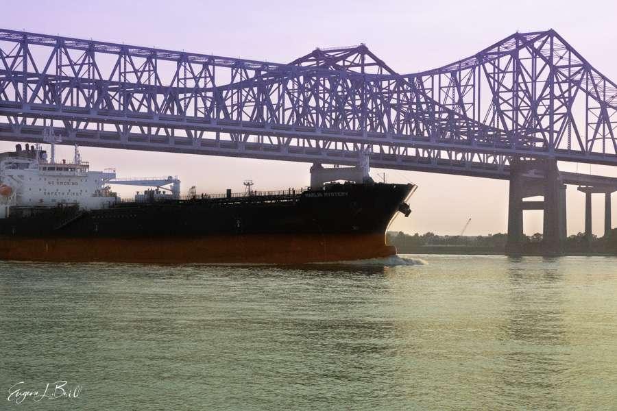 New Orleans Bridges Calendar September 2021