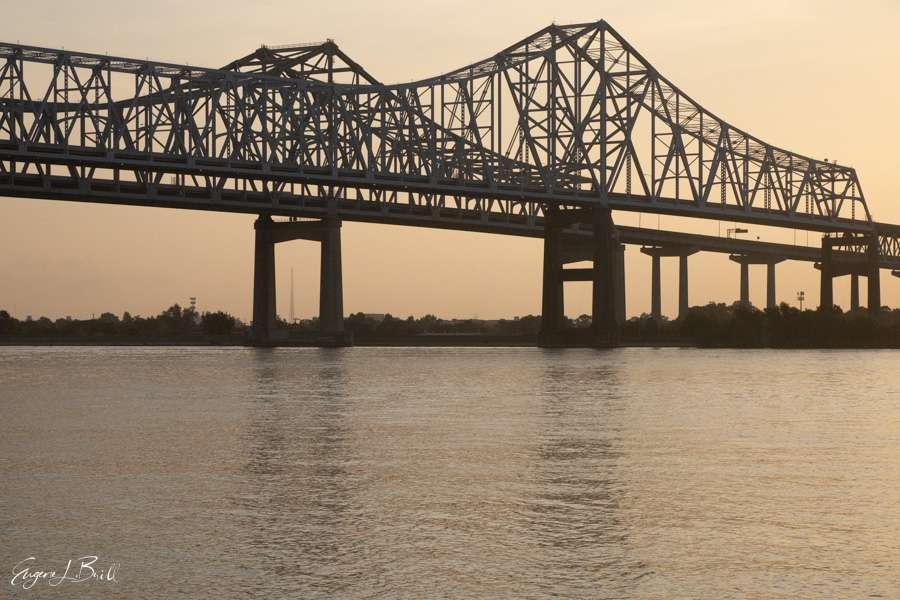 New Orleans Bridges Calendar April 2021