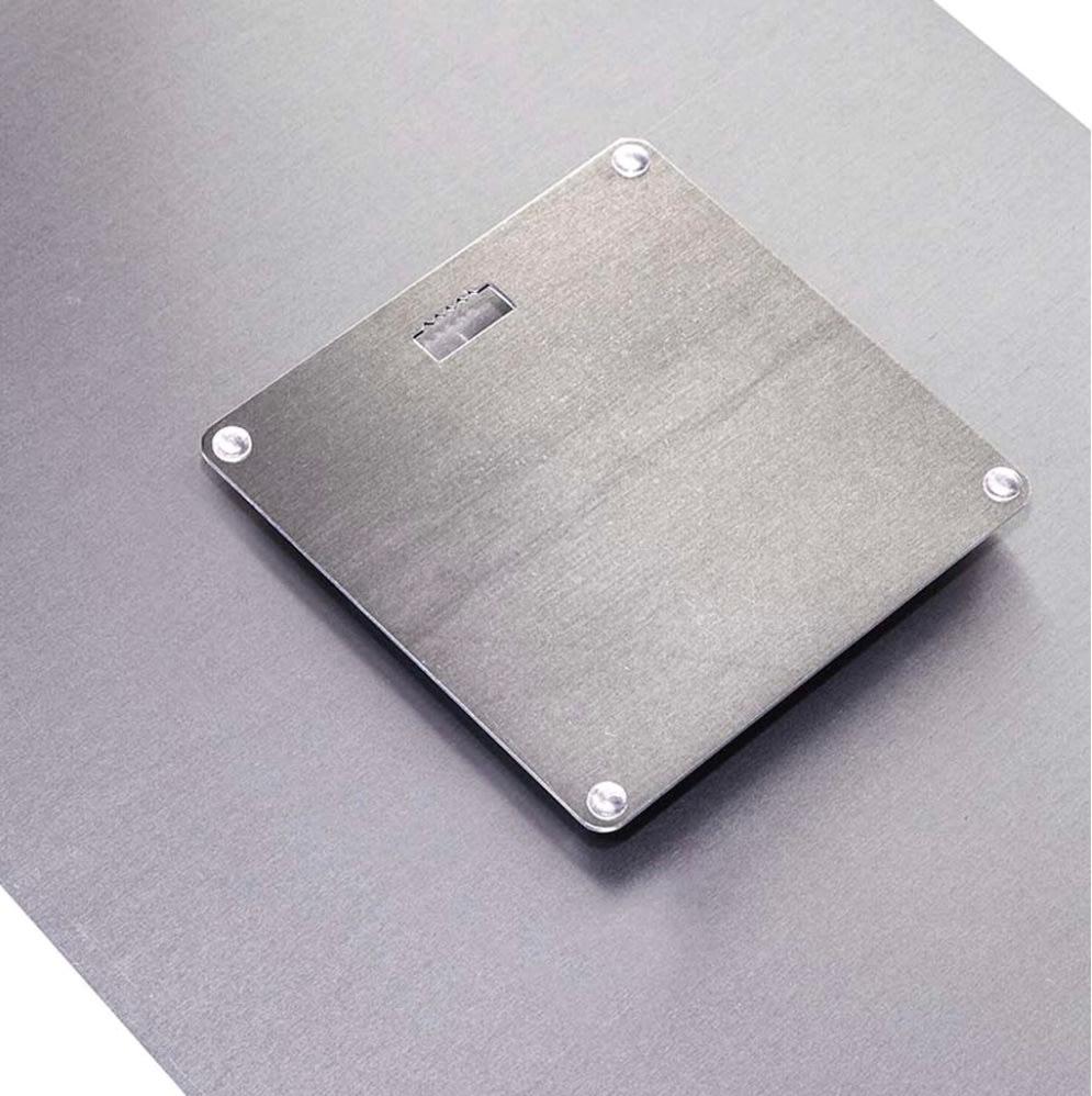 5x7 metal print backs